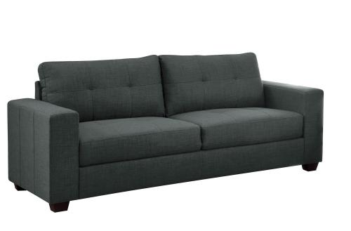 Ashmont Sofa - Polyester - Dark Grey