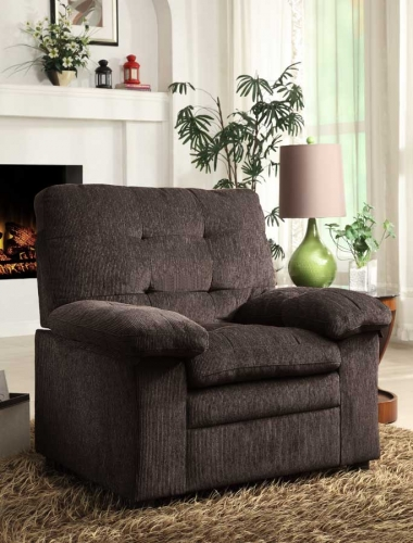 Charley Chair - Chocolate Chenille