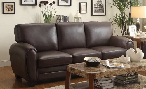 Rubin Sofa - Dark Brown
