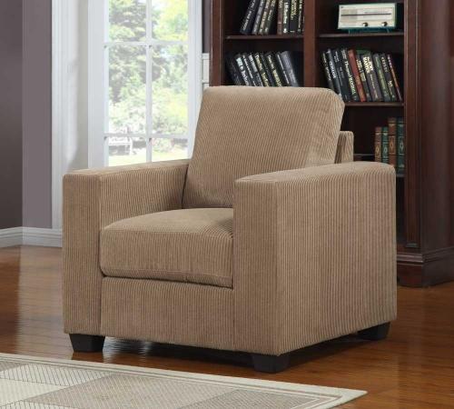 Paramus Chair - Brown Corduroy