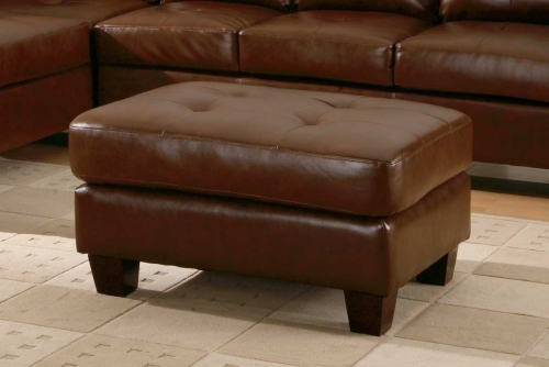 Homelegance Morgan Ottoman Brown