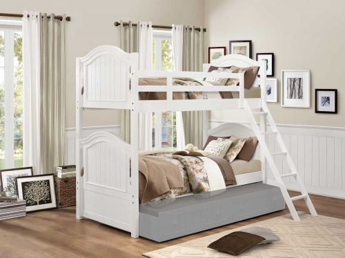 Clementine Twin/Twin Bunk Bed - White