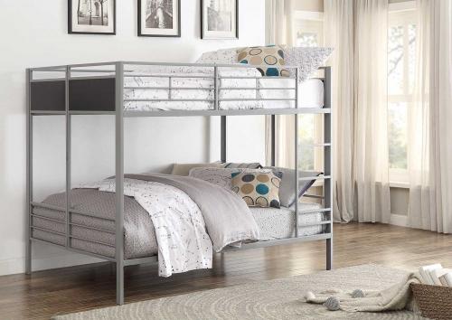 Dex Full/Full Bunk Bed - Grey
