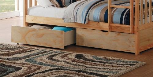 Homelegance Bartly Storage Boxes - Natural Pine