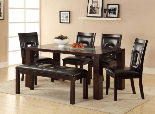 Lee Dining Set - Espresso