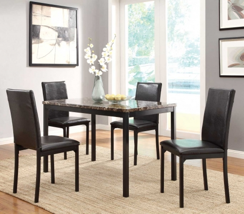 Tempe Dining Set - Black